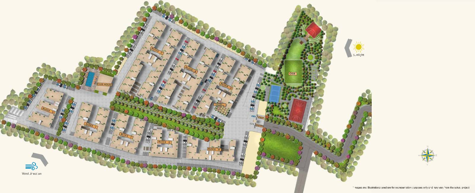 Apartments & Flats in OMR Masterplan