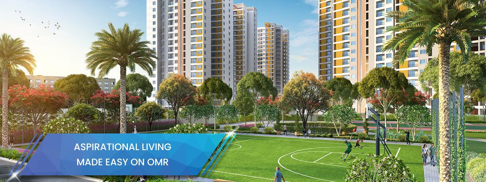 Apartments in OMR Padur